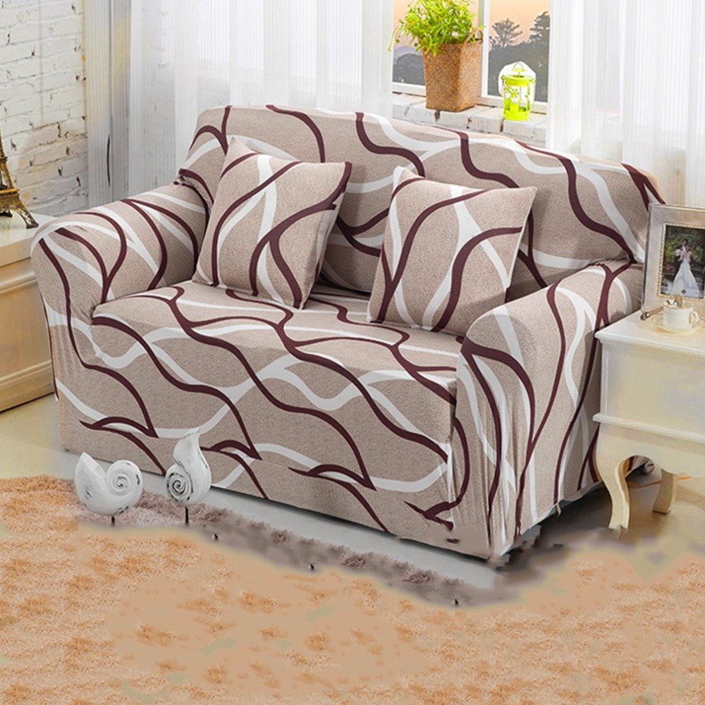 Best Selling2Pcs Suede Furniture Slipcover Sofa Loveseat Couch Cover Thicker+Pillowcase(China (Mainland))