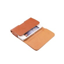 Mobile Phone Cases Bark Pattern Belt Clip Holster PU Leather Pouch Case Mobile Phone Bag Cover For iphone 4 4s 3g KS0128