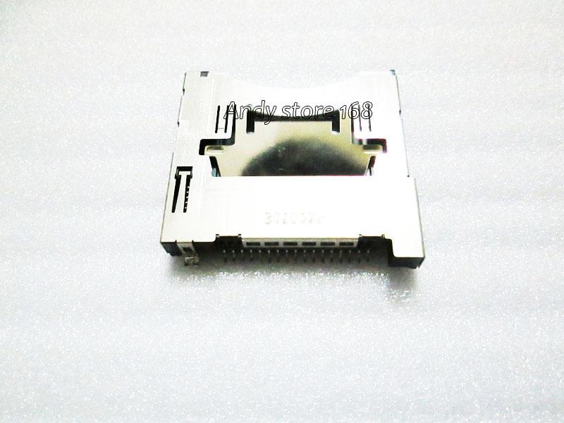 Original Flash Card Slot Socket For 3DS XL LL 3DSXL Console Repair Parts 5pcs/lot(China (Mainland))