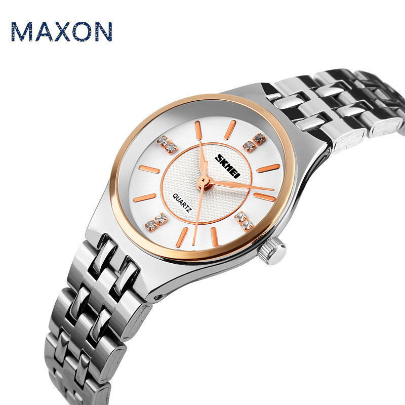 Maxon  2015 women brand watch Luxury diamond beautiful Famous  Quartz movement new arrival Stainless steel wristwatches Wa001<br><br>Aliexpress
