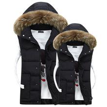 Скидки на Корейский мужской пуховик с капюшоном толщиной верхней одежды Ветровка парки Ветрозащитный теплые Куртки Вниз Пальто куртка Плюс размер