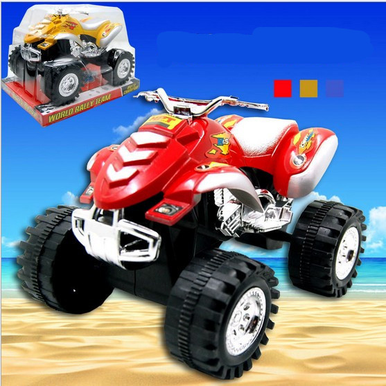Plastic children educational toy Beach motorcycle toys car friction for kids gift sand bike sea play game free shipping(China (Mainland))