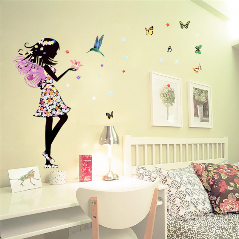 faery wall stickers for kids rooms home decor living room bedroom