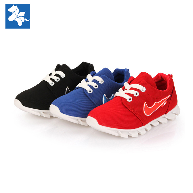High quality breathable rubber sole Mesh fabric basketball soccer running sport shoes boys girls baby kids children sneakers(China (Mainland))