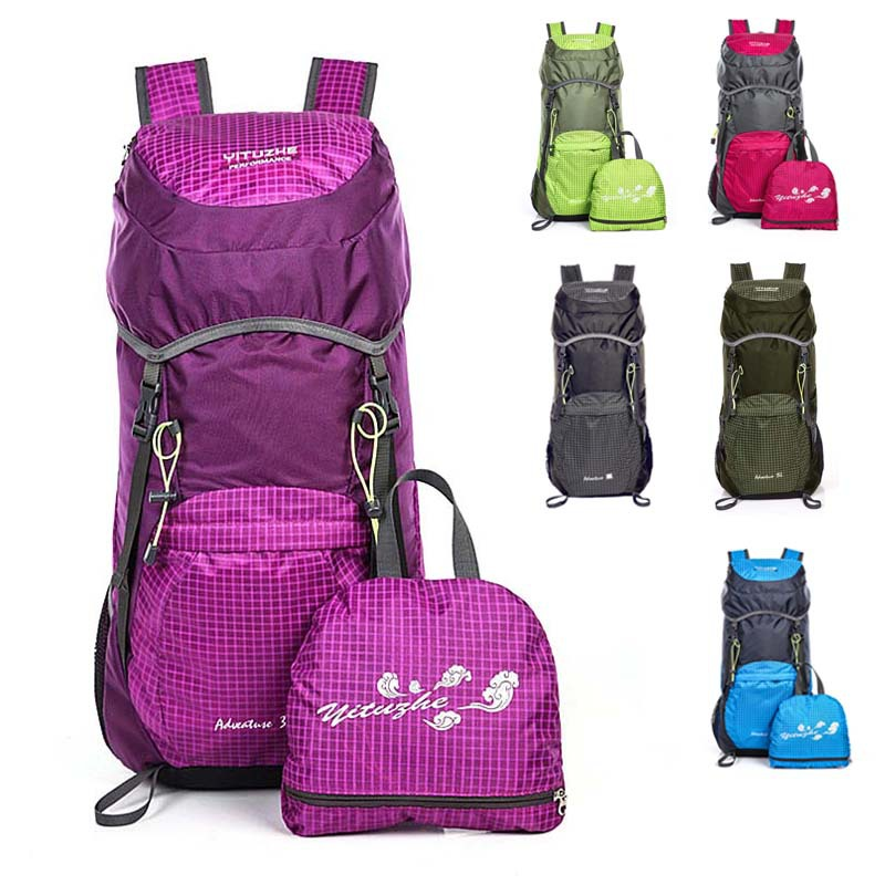 Free shipping Foldable bag Outdoor sport travel backpack mountain climbing backpack climb knapsack camping hiking backpack <br><br>Aliexpress