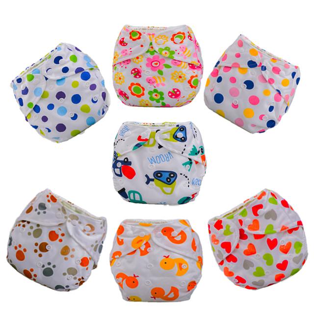 1 шт. ребенка регулируется пеленки дети ткань пеленки многоразовые подгузники тренировочные ...
