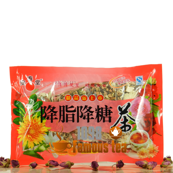 100g Organic Fall Hematic Fat and Fall Blood Sugar Tea,Mixed many kinds of Flowers Tea,1098 Famous Tea,Free Shipping<br><br>Aliexpress