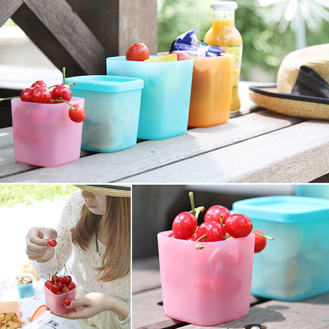 Best Seller Refrigerator Crisper Sealed Transparent Plastic Box Kitchen Sorting Food Storage Box Container Accessories(China (Mainland))
