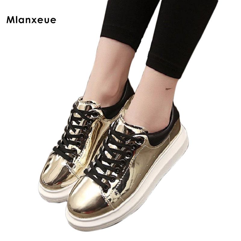 2016 Spring New Women's Korean Casual Shoes women Fashion Lacing Single Shoes Sneakers Women High Quality Flat Shoes(China (Mainland))