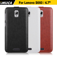 for Lenovo S660 Case Flip Leather Case For Lenovo S660 Cover Android Phone Bag Luxury Leather Case For Lenovo S660(China (Mainland))