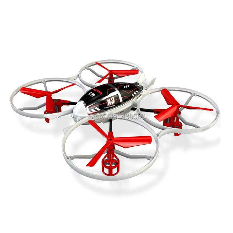 100% new SYMA rc flying toys 2.4G 4CH Large remote control helicopter X3 red color quadrocopter drone UFO boys toys(China (Mainland))