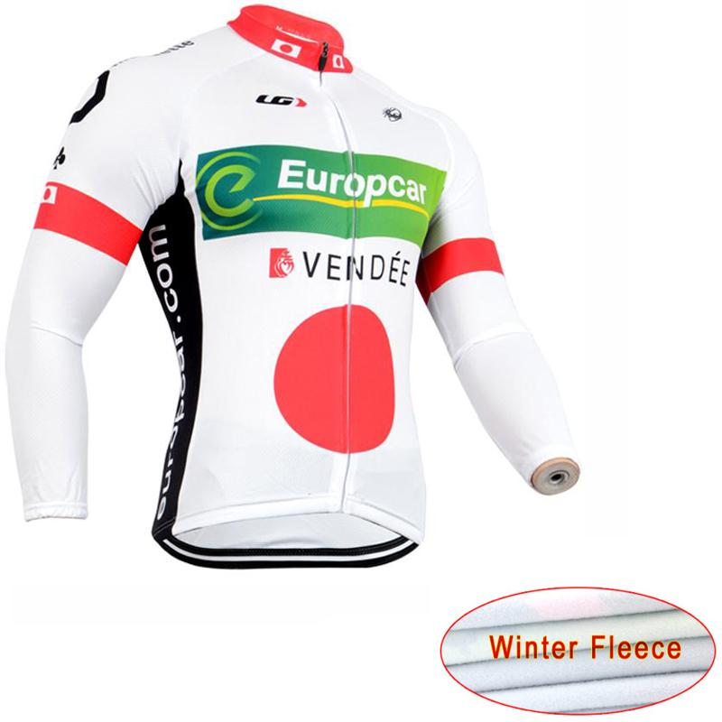 2016 Mens high quality Thermal Fleece Long Sleeve Cycling Jersey Mountain Bike clothing Bicycle Clothes MTB<br><br>Aliexpress