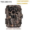 TEC BEAN 12mp Scouting Hunting Camera Night Vision 940nm IR GPS Infrared Trail Cameras 2 0