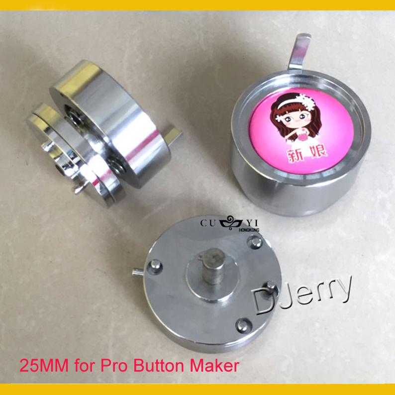 "Фотография Round 1""(25mm) Interchangeable Die Mould for New Pro Badge Machine Button Maker"