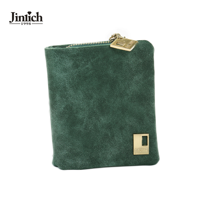 Factory Outlet Solid Vintage Matte Women Wallet Fashion Small Female Purse Floral Carteras Mujer Femininas short wallet purse(China (Mainland))