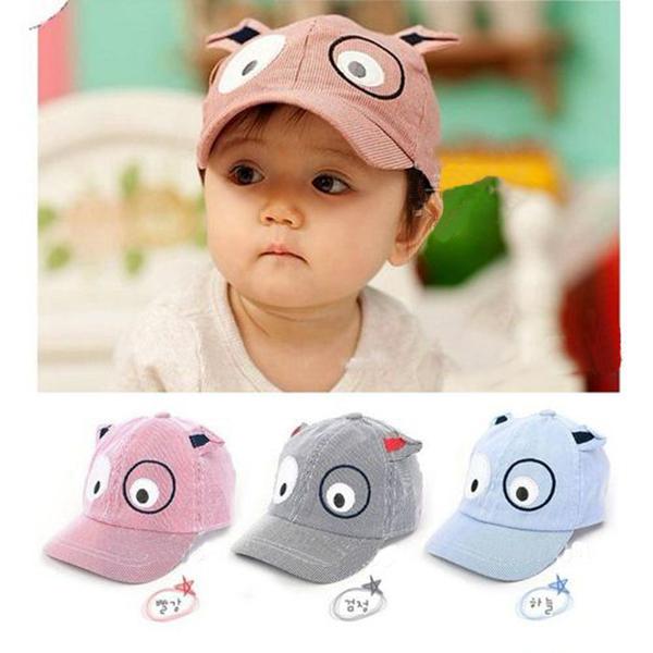 Kids Baby Girl Boy Children Dog Hat Toddler Casquette Baseball Beret Cap 1-3 T(China (Mainland))