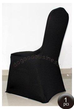 Free shipping 1pcs Black spandex lycra chair cover spandex chair cover,wedding decoraiton cover