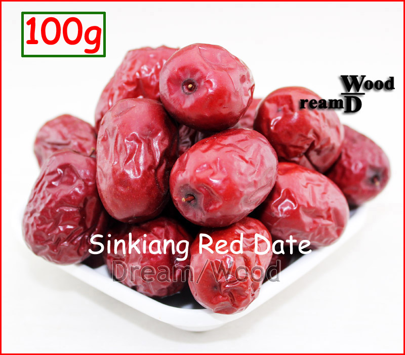 100g Premier Dried Red Dates Chinese Jujube Healthy Green Dried Fruit<br><br>Aliexpress