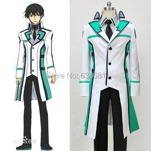 Cos Irregular Magic High School Tatsuya Shiba Mahesvara Aotian Cosplay Costume Course 2 Curriculum Long Uniform - Cosme Store store