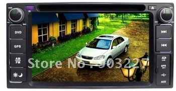 Specia car dvd for toyota soluna with gps,steer wheeling control,rear view camera and free shipping