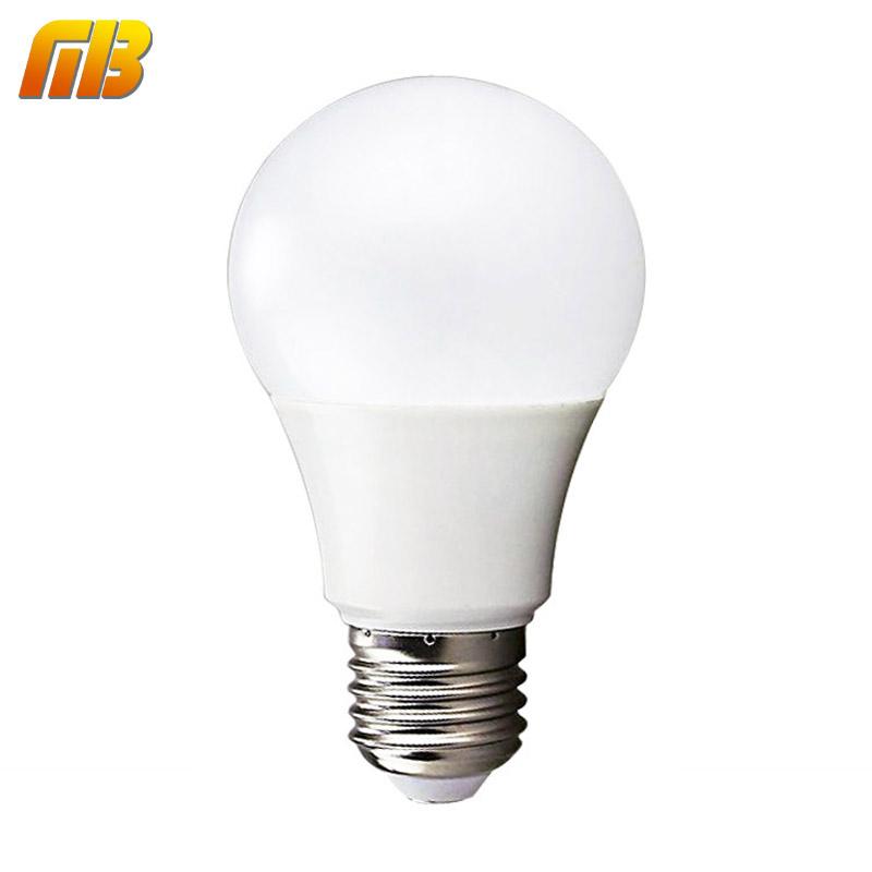 LED Bulb Lamps E27 220V-240V Light Bulb Smart IC Real Power 3W 5W 7W 9W 12W 15W High Brightness Lampada LED Bombillas(China (Mainland))