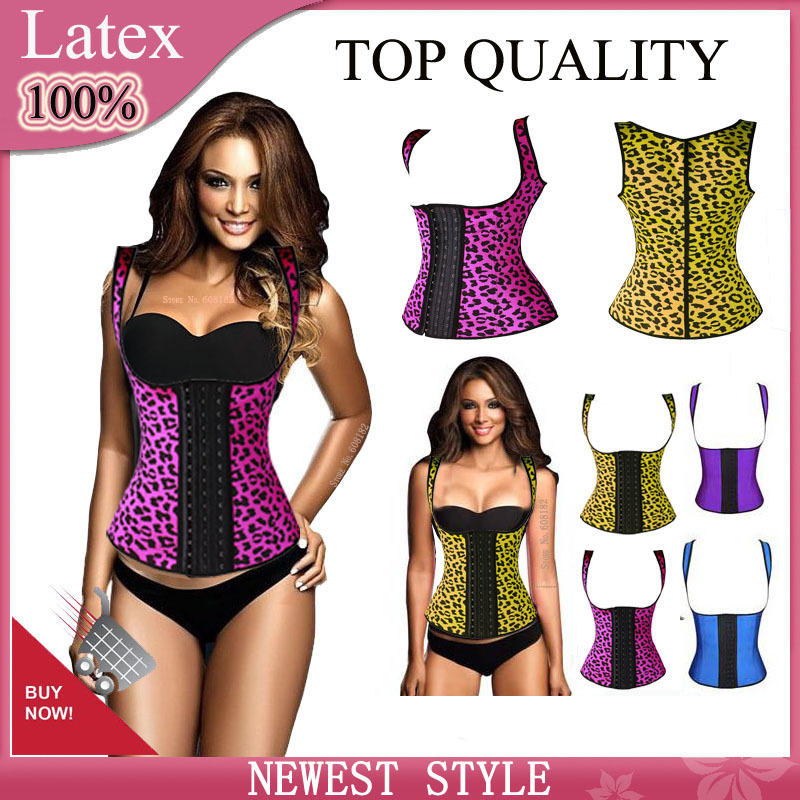 latex Waist Trainer vest rubber waist shaper Weight Loss Corset girdle shapewear for women gaine amincissante slimming shaper(China (Mainland))