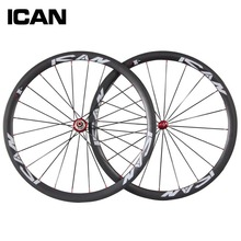 Buy 38mm Clincher carbon wheels 23mm wide Crabon road bike wheels Toray 700C UD Matt Chinese road bike wheels R36 carbon Wheelset for $399.00 in AliExpress store