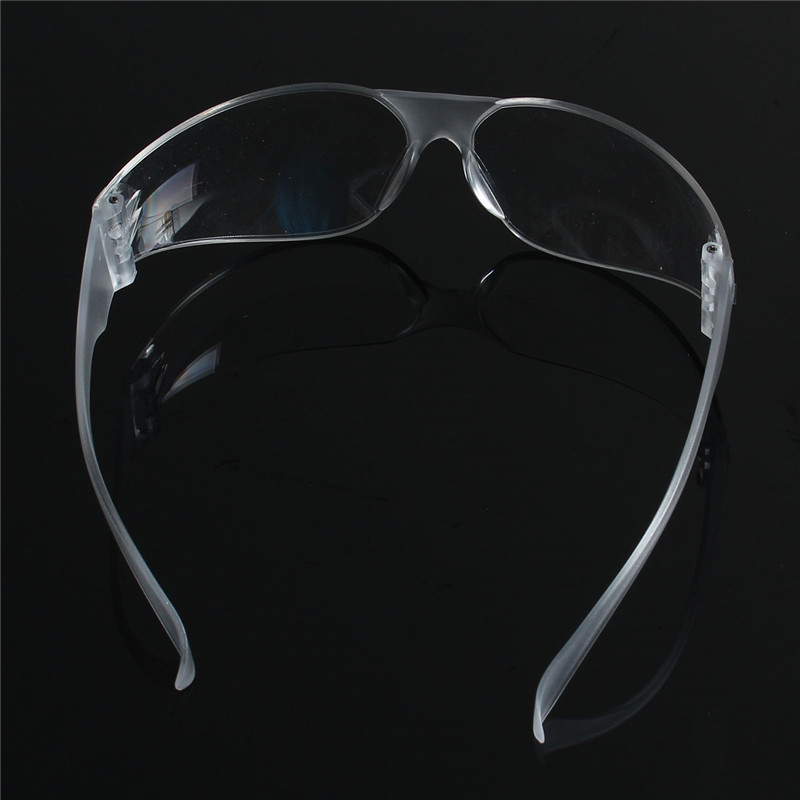 1 PCS Safety Glasses Lab Eye Protection Protective Eyewear Clear Lens Workplace Safety Goggles Supplies