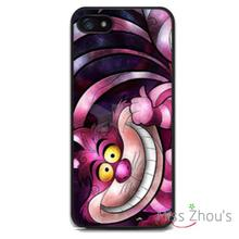 Alice Cheshire Cat Protector back skins mobile cellphone cases for iphone 4/4s 5/5s 5c SE 6/6s plus ipod touch 4/5/6