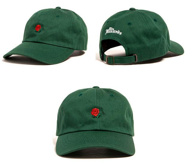 new rose dad hat black white boys Drake custom sanpback printing baseball cap for men women sport fishing cap female egg hat(China (Mainland))
