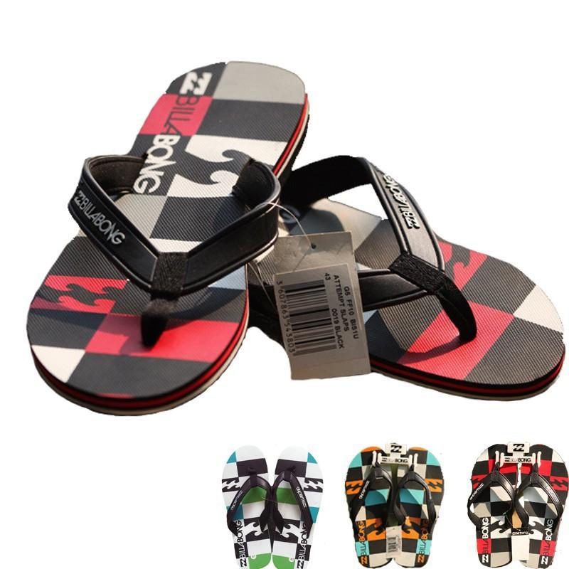 Billabong 2015 Summer Brand Men Sandals,Fashion Men Platform Sandalias,PVC Beach Flip Flops For Men Slipper Big Size 39-46(China (Mainland))