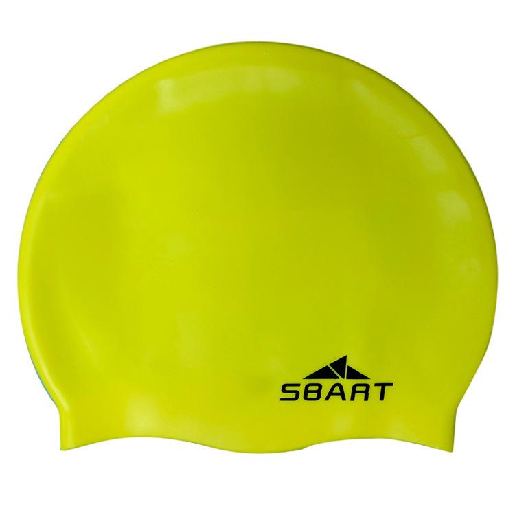 SBART Men Women Adults Swimming Caps Waterproof Siwm Cap Pool Swimming Protect Ears Latex Cap , waterproof swim caps(China (Mainland))