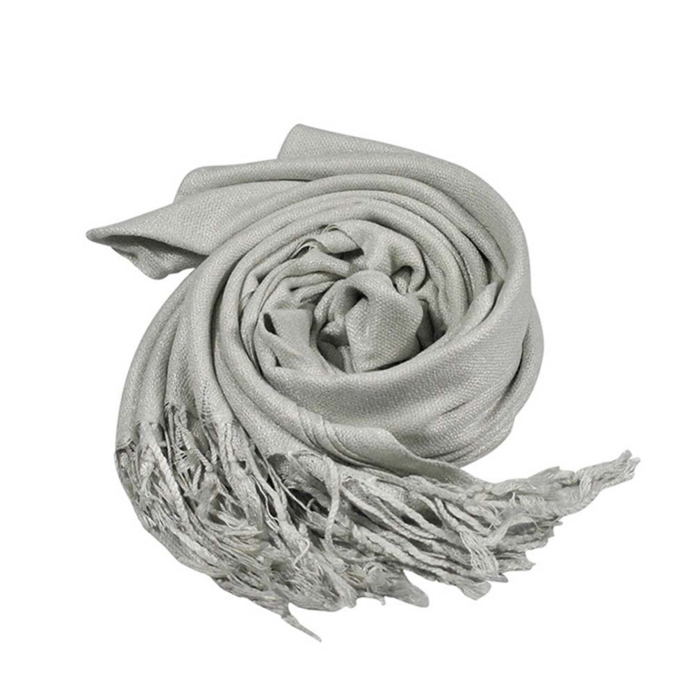 Free Shipping 2016 Womens Fashion Charming Solid Color Winter Warm Cashmere Silk Solid Long Pashmina Shawl Wrap Scarf 180x70cm(China (Mainland))
