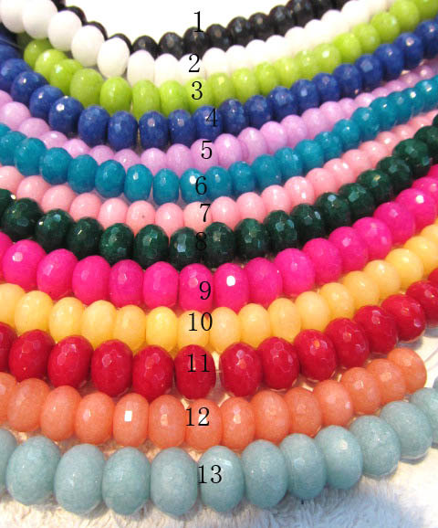 wholesale 12x16mm 5strands 16inch,rondelle abacus assortment jade cabochons jewelry beads<br><br>Aliexpress