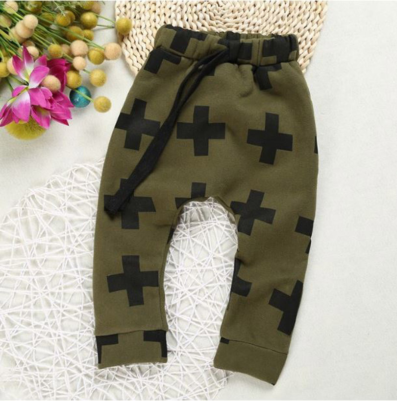 2016 New baby trousers for boys kids cross star pants,<font><b>shalwar</b></font> <font><b>kameez</b></font> pants for girls boys pants kids kikikids clothes YAZ018
