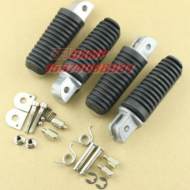 Front&Rear Footrests Foot pegs fits Yamaha XJR1200 XJR1300 FZ1000 FZ1 FZ6 Free shipping(China (Mainland))