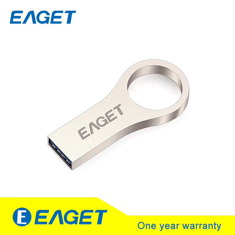 EAGET U66 USB 3.0 Metal Flash Drive Pen Drive Memory Stick Pendrive 16G 32G 64 USB Flash Stick Key Ring Waterproof High Speed(China (Mainland))