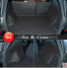 Buy 2015 Best mats! Special trunk mats Mercedes Benz ML500 2015 waterproof durable carpets MB ML 500 2014-2012,Free for $179.09 in AliExpress store