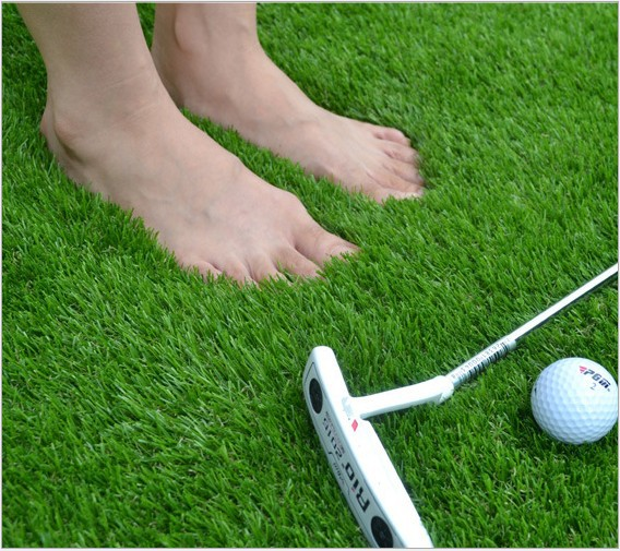 High quality PE High simulation 40MM golf green lawn Golf exercises mat Golf Training grass Free shipping(China (Mainland))