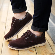 2015 autumn spring fashion men shoes casual breathable flats adult male Oxfords sneakers size 39 44