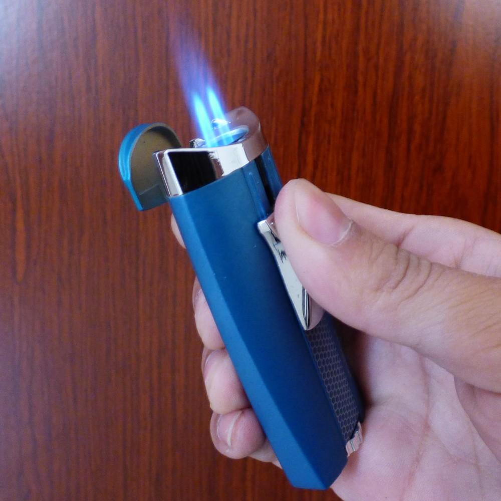ถูก DOUBEเจ็เปลวไฟวางลงแสงMETAL-PAINTรีฟิลโลหะซิการ์