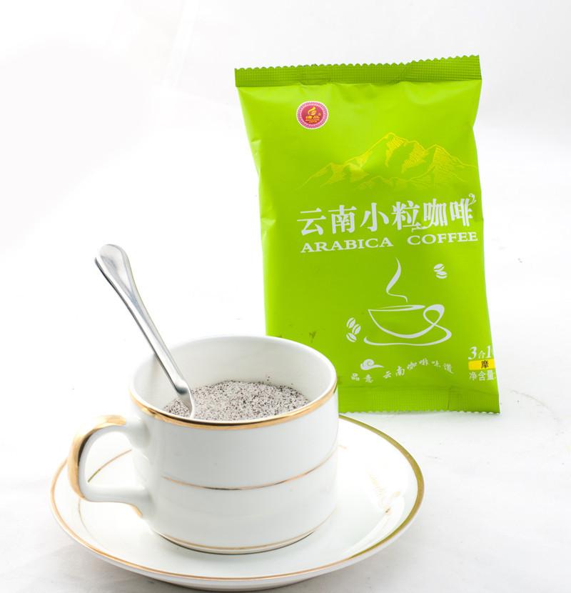 China Yunnan plateau Small grain coffee instant mocha coffee 300g three bags 100g each bag