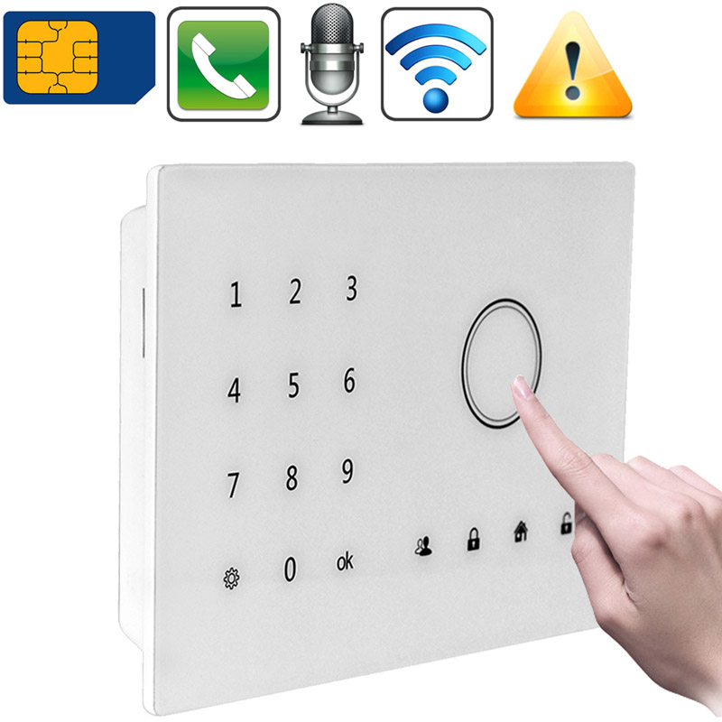Wireless Door Entry Burglar 3G Alarm Safety Guardian Protector Alarm Systems Security Home Wireless Metal Remote Controller(China (Mainland))