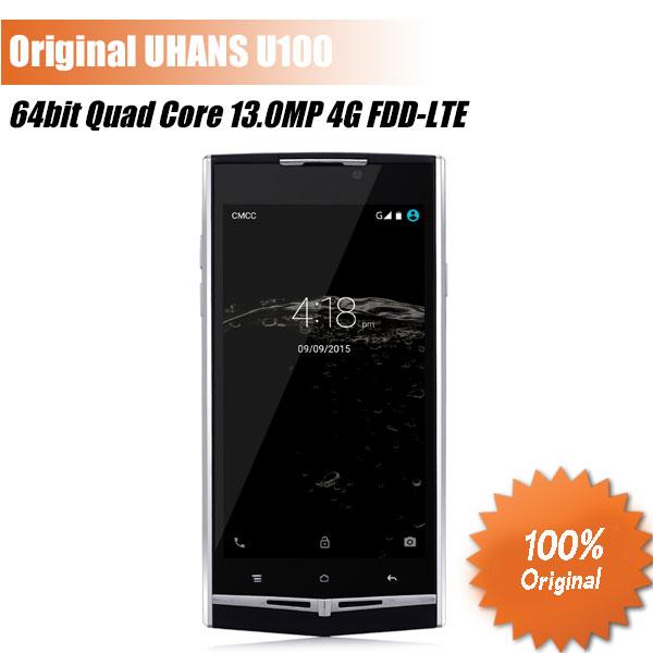 Original UHANS U100 Phone 4.7 inch Android 5.1 64bit MTK6735 Quad Core 4G FDD-LTE Mobile phone 13.0MP Miracast Business Phone(China (Mainland))
