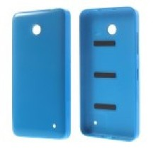 Free shipping  Back Housing Battery Door Cover for Nokia Lumia 630 with Power  Volume Button Black/Yellow/Green/Red/White color(China (Mainland))