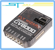 Hot High-Speed Mini GV8000 3 Axis Gyro Flybarless System For ALIGN T-REX etc. 450 550 600 700 RC Helicopter free shippi boy gift