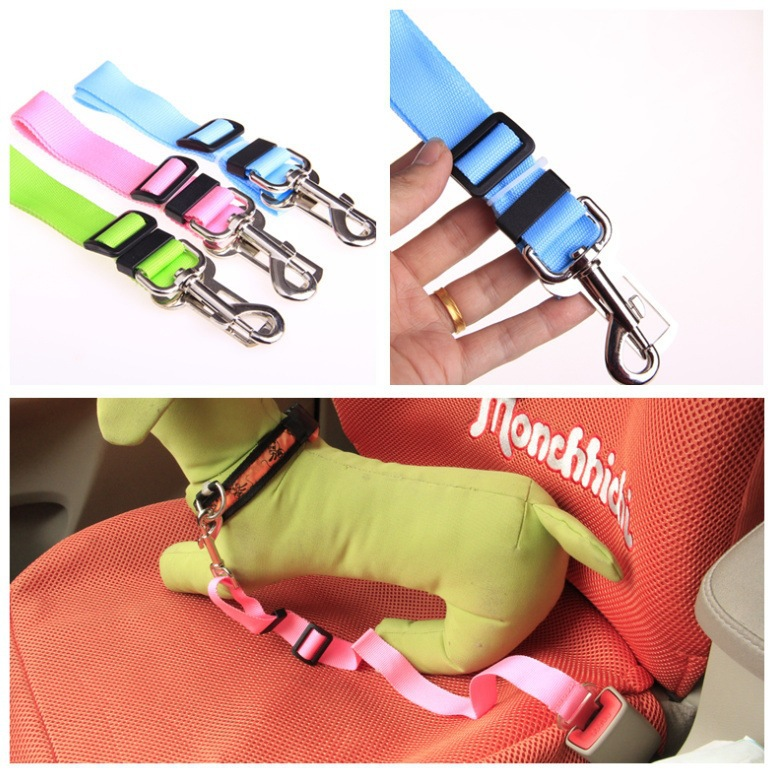 100pcs/lot factory supply retractable pet dog harness dog rope wholesale automotive supplies Special(China (Mainland))