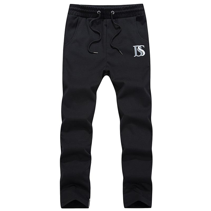 2015New Fashion Plus Size Men Pants Fit Cotton jogger pants Autumn style Sweatpants Men's Trousers Sport Pants M~3XL(China (Mainland))