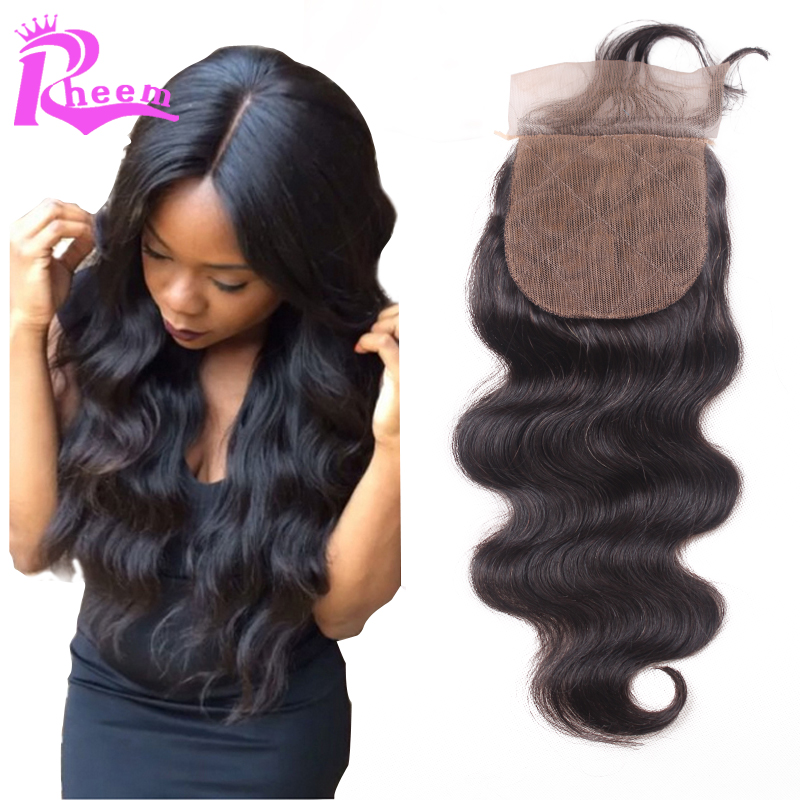 Гаджет  7A Best Virgin Peruviain Silk Base Closure,Free/3 Part Body Wave Cheap Silk Base Closure Peruvian Hair,4x4 Peruvian Silk Closure None Волосы и аксессуары