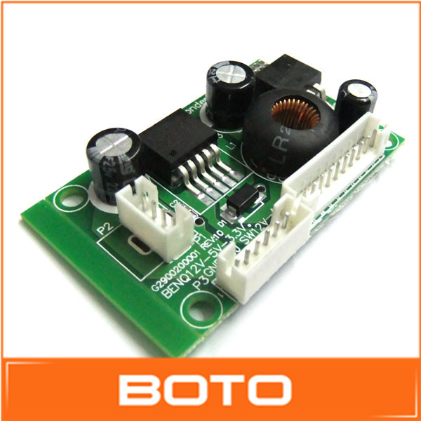 Инверторы и Преобразователи DC/DC Converters 100 /dc/dc 12V 5V 3.3V #0900033 12V to 5V 3.3V Power Step-down Module